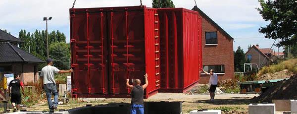 prix d'une maison container