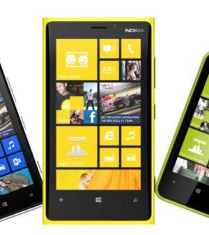 La gamme Nokia Lumia