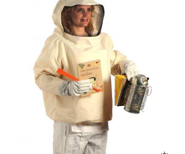 fabriquer une ruche avec une combinaison d 39 apiculteur. Black Bedroom Furniture Sets. Home Design Ideas