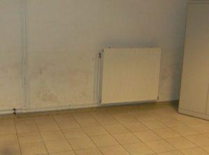 Problème d'humidité des murs