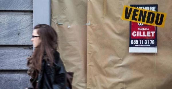 prix de l'immobilier en Belgique