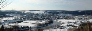 Vue sur le fleuve Saint-Laurent