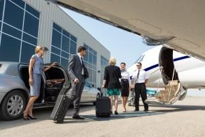 Voyage en jet privé