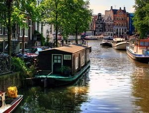 vie sur une péniche Amsterdam