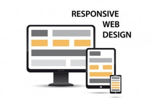 responsive web design, elements are displayed on different devices
