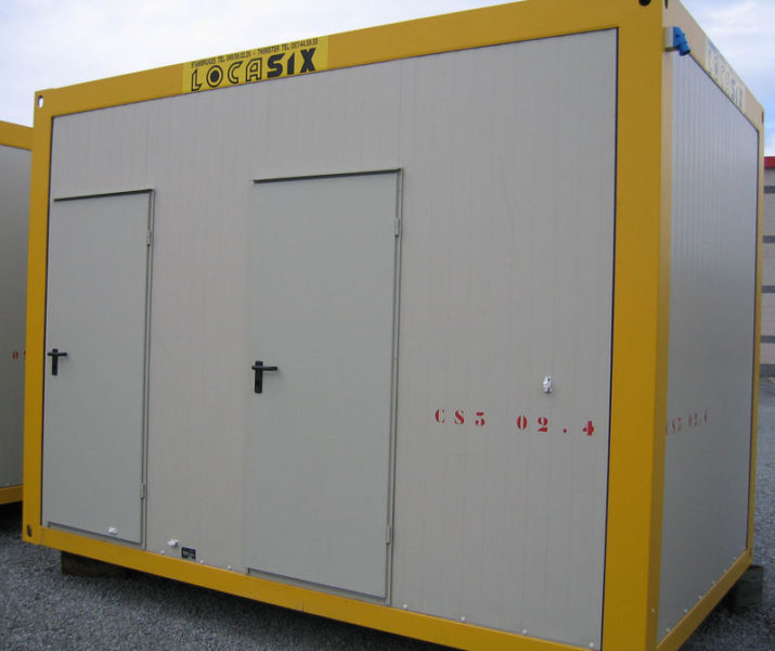 Le container au service de vos chantiers for Location container habitable