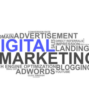 nuages de mots clés autour du marketing