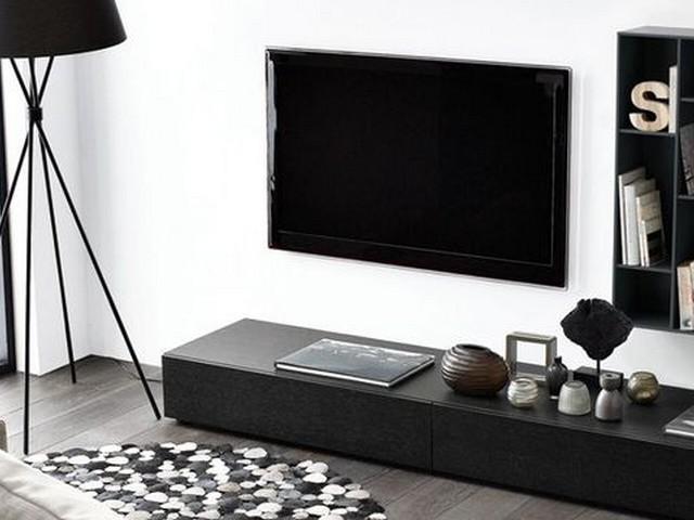 quel support mural choisir pour son t l viseur. Black Bedroom Furniture Sets. Home Design Ideas