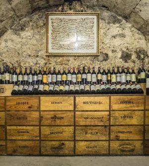 une cave à vin authentique