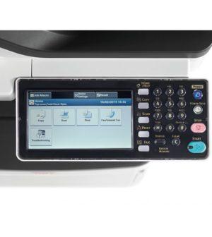 écran d'une imprimante laser