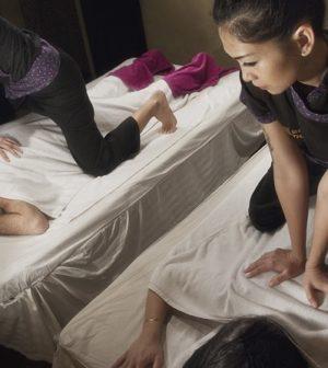 un massage de couple