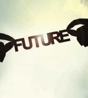 un logo signfiant le futur