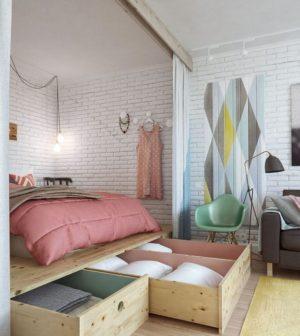 Aménagement de suite parentale dans une petite chambre