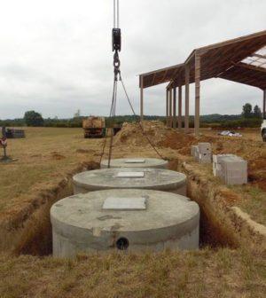 Installation d'une micro-station d'épuration: les différentes étapes