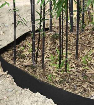 Installer une barrière anti-rhizomes pour les bambous