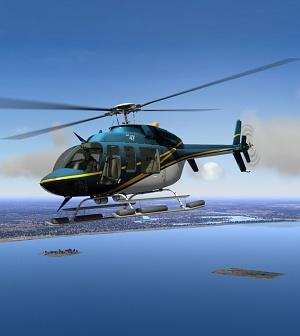 Les mondes meilleurs pilote d/'hélicoptère Coussin