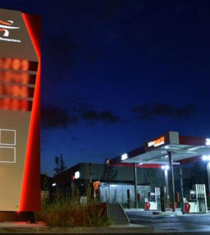station de carburant