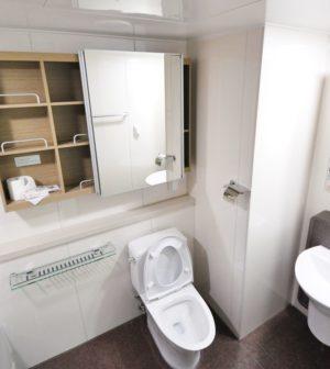 Les toilettes ont également besoin de rénovation