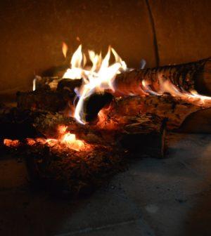 bois de chauffage poele