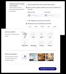Site réservation hôtel