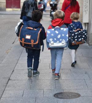 Rentrée écoliers en primaire