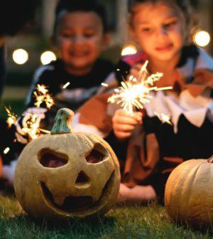 fête d'halloween chez les enfants