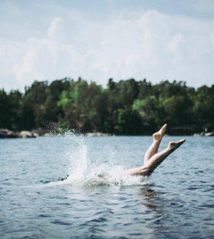 natation pendant la canicule