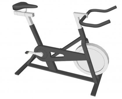 Un vélo d'appartement
