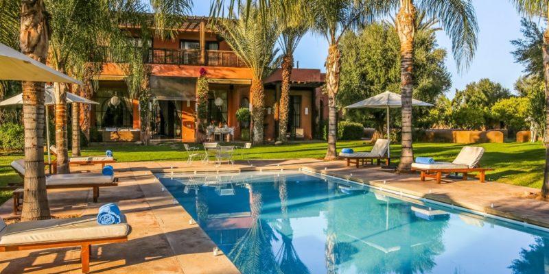 Villa jardin nomade à Marrakech