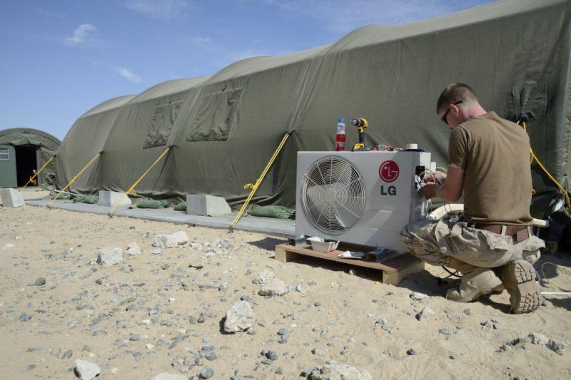 climatiseur militaire