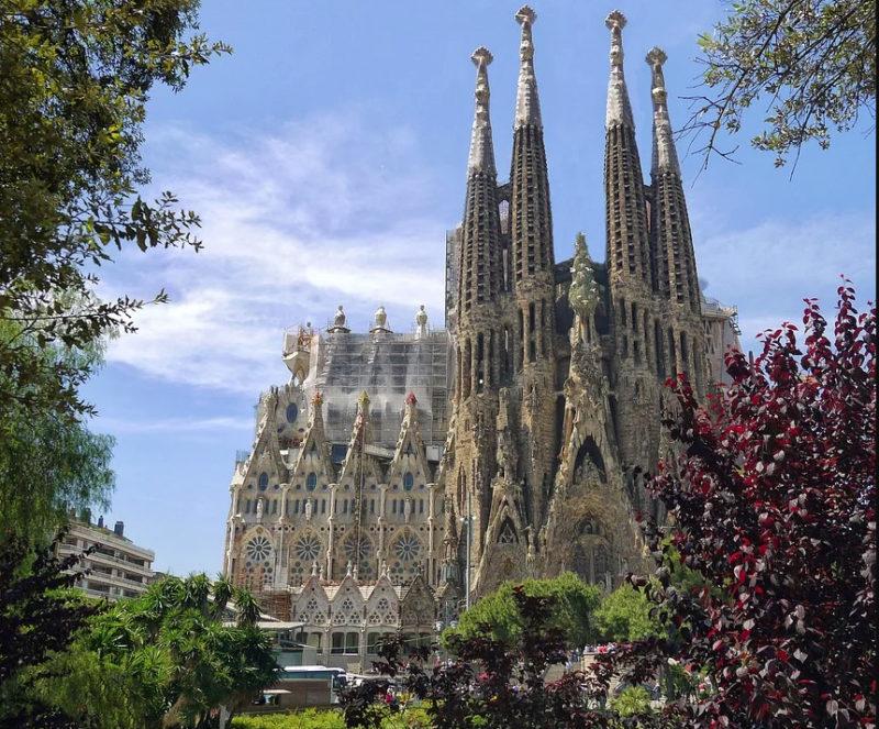 La célèbre Sagrada Familia