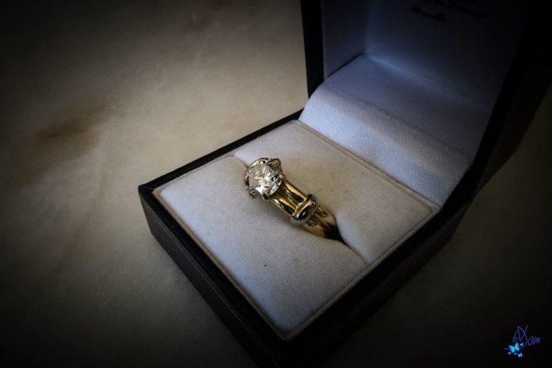 achat d'une bague diamant solitaire