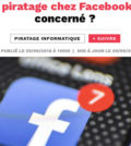 alerte nouveau piratage sur Facebook