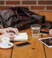 réseau et café