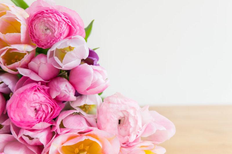 fleurs pour sa belle mère