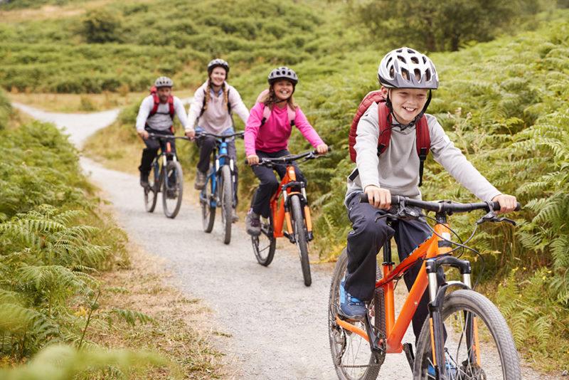 roadtrip à vélo en famille