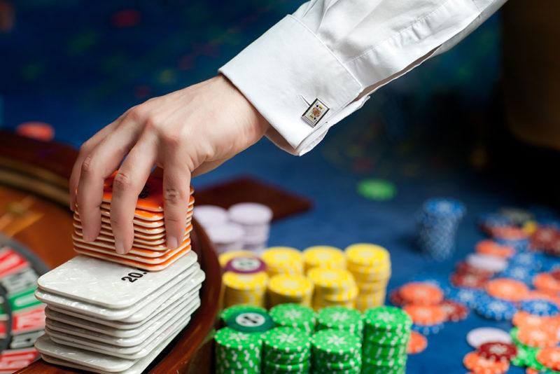débutant au casino