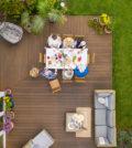 spot leds sur terrasse