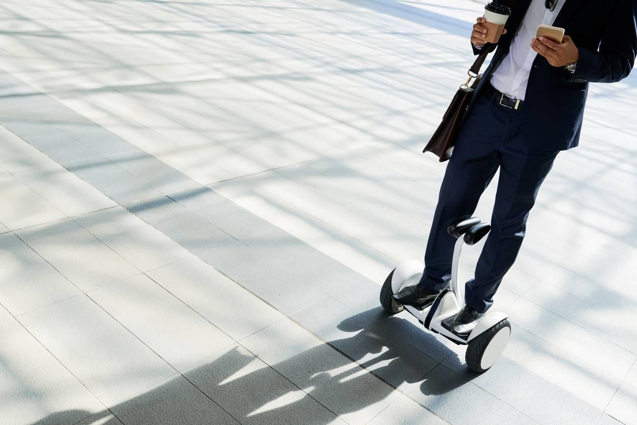 hoverboard pour se déplacer en ville