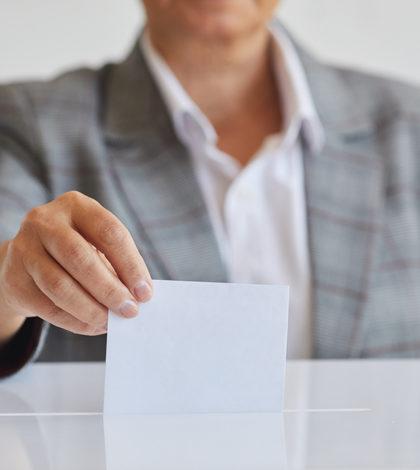 affichage électoral