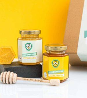 Coffret de miel personnalisé